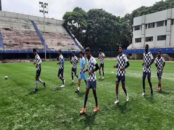 Ahmedabad Racquets Academy FC players. (Photo/ I-League website)