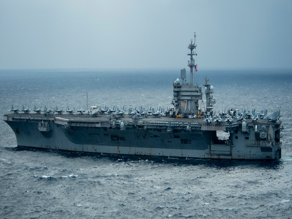 The aircraft carrier USS Theodore Roosevelt. (Photo credit: USINDOPACOM)