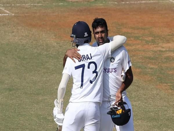 Mohammed Siraj and R Ashwin (Photo/ BCCI)