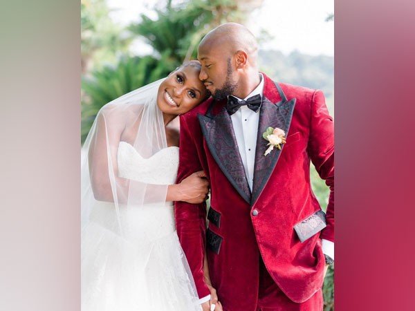 Issa Rae with husband Louis Diame (Image source: Instagram)