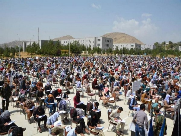 5000 Afghan youngsters appear for Military academy test despite war-torn situation [Image Credits: The Khaama Press]