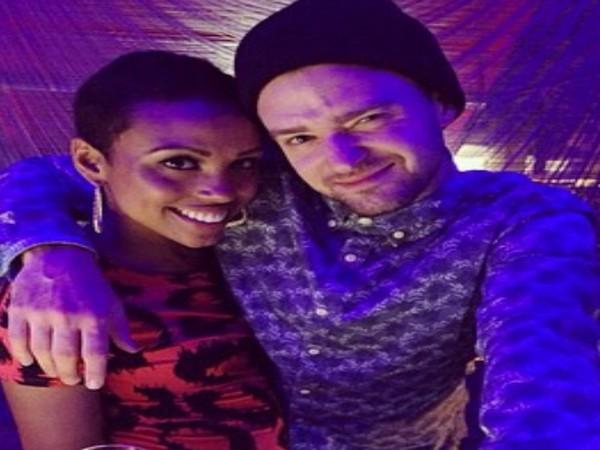 Justin Timberlake and Nicole Hurst (Image Source: Instagram)