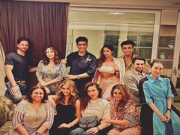 A glimpse of the star-studded house party (Image source: Instagram)