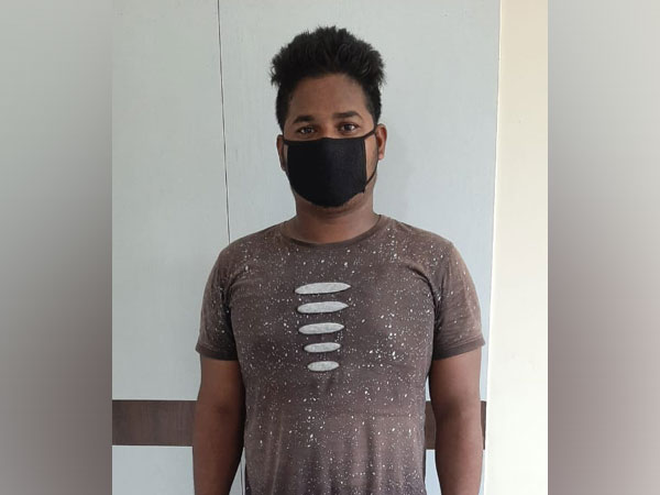 One of the arrested persons (Photo/ANI)