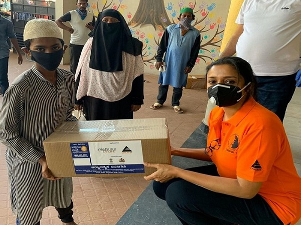 2,50,000 meals distributed by Embassy during the lockdown