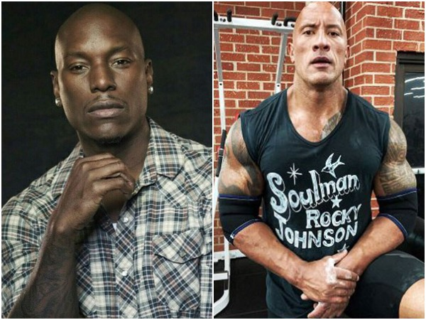Tyrese Gibson and Dwayne 'The Rock' Johnson (Image courtesy: Instagram)