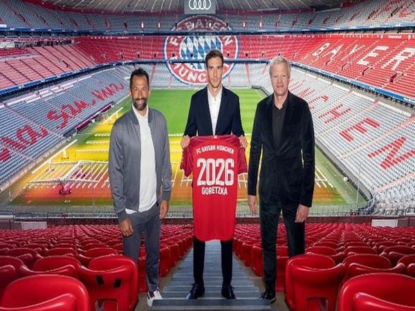 Leon Goretzka extends contract with Bayern Munich (Photo/ Bayern Munich Twitter)