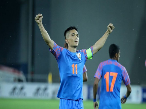 India football captain Sunil Chettri (Photo: AIFF)