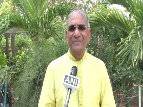 Gujarat businessman Govind Dholakiya who donated Rs 11 crore for Ram temple construction.