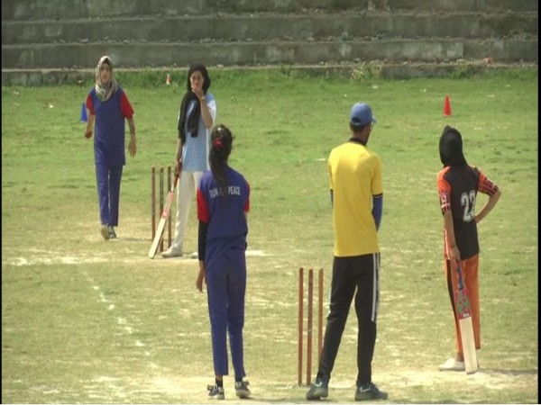First-ever girl's tennis ball cricket tournament organised in Budgam