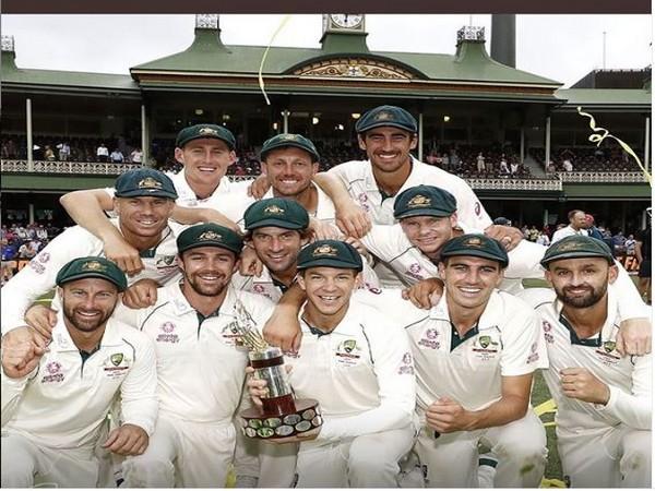 Australia's cricket team (Photo/ David Warner Instagram)