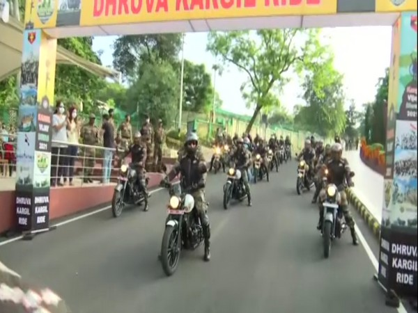 Visuals from the motorcycle rally (Photo/ANI)