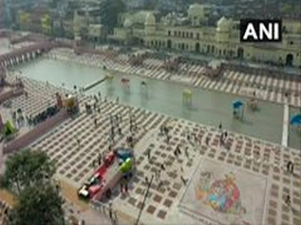 Deepotsav Celebrations at Ayodhya (Photo ANI)