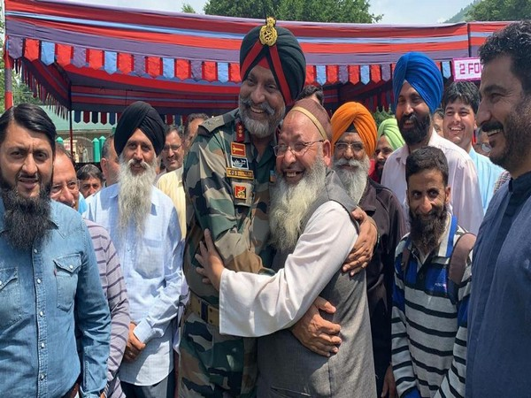 Chinar Corps celebrated Eid Milan on Saturday