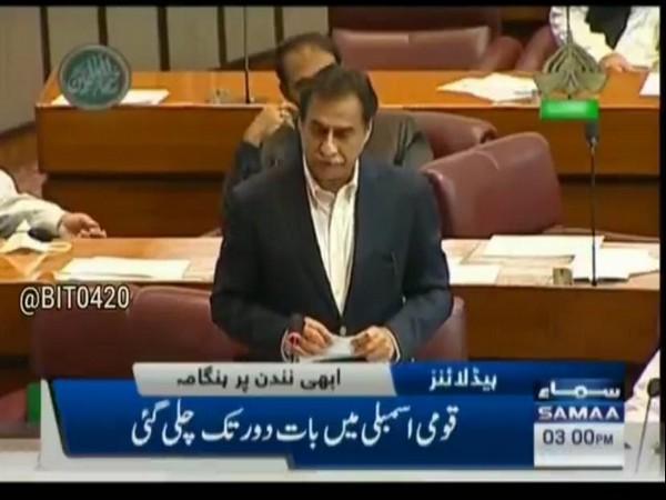 Pakistan lawmaker Ayaz Sadiq (File photo)