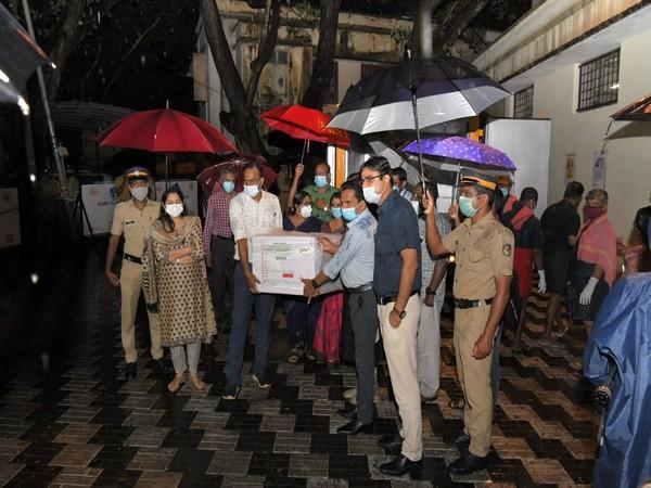 Visual from Thiruvananthapuram International Airport (Photo/ANI)