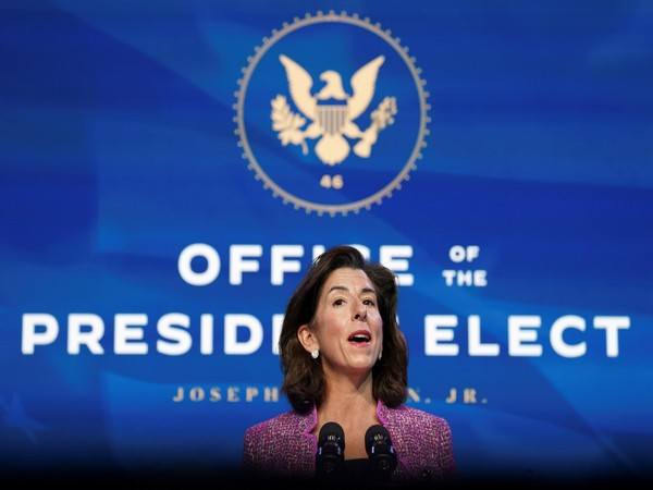 Joe Biden's nominee for Secretary of Commerce Gina Raimondo