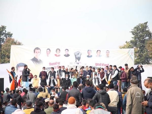 Visual from near the Uttarakhand Assembly (Photo/ANI)