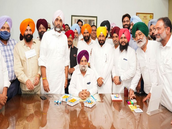 Sukhjinder Singh Randhawa assumed charge as Punjab Deputy CM on Tuesday. (Photo/ANI)