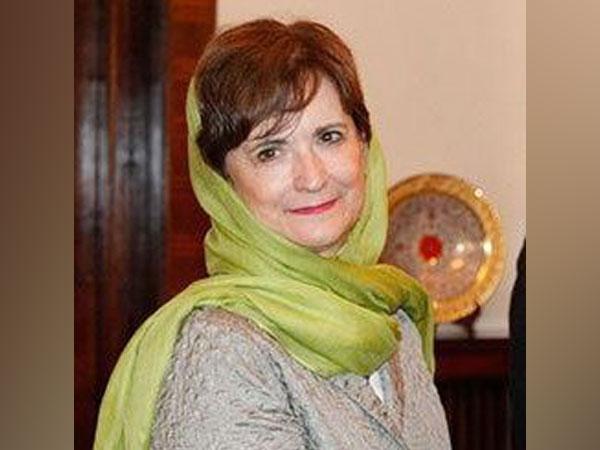 UN special envoy for Afghanistan Deborah Lyons (Credit: Deborah Lyons/Twitter)
