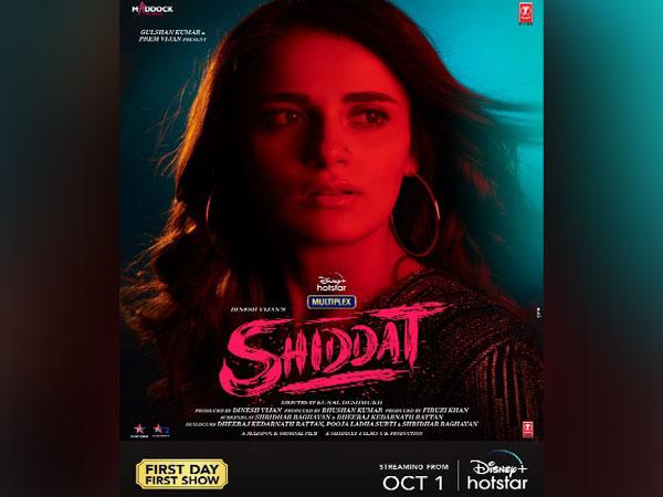Poster of 'Shiddat' (Image source: Instagram)