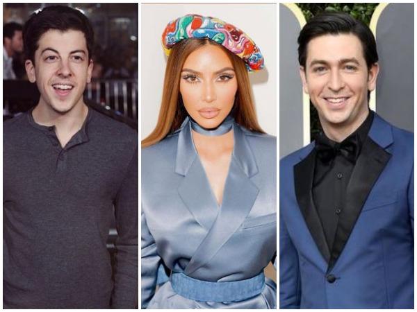Christopher Mintz-Plasse, Kim Kardashian and Nicholas Braun (Image courtesy: Instagram)