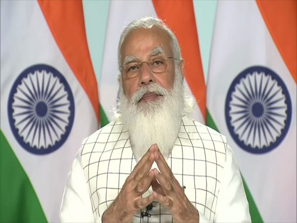 Prime Minister Narendra Modi speaking at a event. (Photo/ANI)