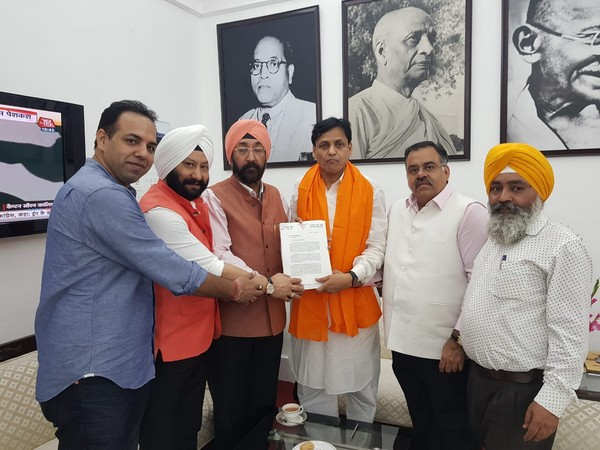 Delegation meets MoS Nityanand Rai  to push for Sikh security in New Delhi [Photo/ANI]
