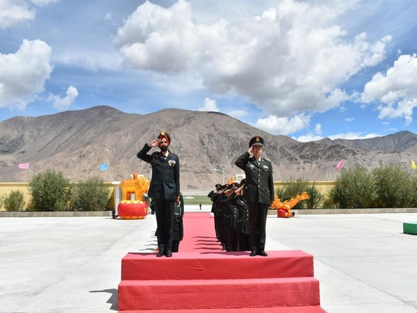 Ceremonial BPM was conducted in Eastern Ladakh on the occasion of 'PLA Day'.
