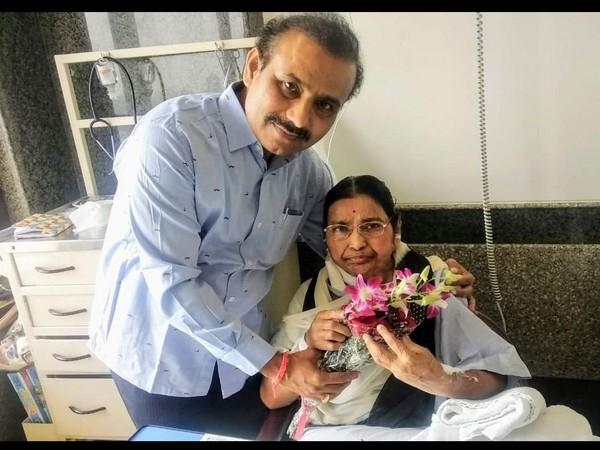 Maharashtra Health Minister Rajesh Tope's mother, Sharadatai Ankushrao Tope
