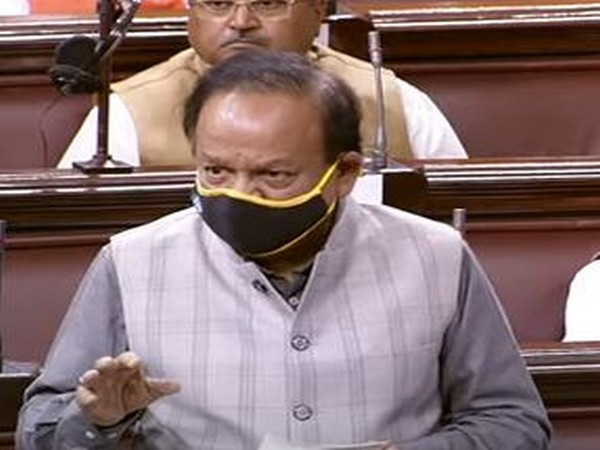 Harsh Vardhan moving Medical Termination of Pregnancy (Amendment) Bill, 2020 for consideration and passing in Rajya Sabha on Tuesday.