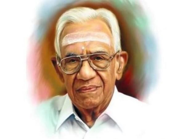 PK Warrier, the Managing Trustee of Kottakal Arya Vaidya Sala and a pioneer in the field of Ayurveda.