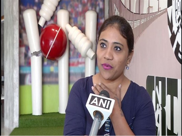 Naina Jadeja, sister of India's all-rounder Ravindra Jadeja, talking to ANI.