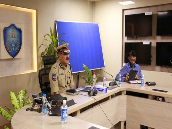 Hyderabad Commissioner of Police Anjani Kumar asked the City Police social media unit to monitor and update senior officers on any derogatory posts immediately. [Photo/ANI]