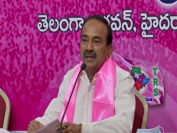 Telangana State Health Minister Eatala Rajendra