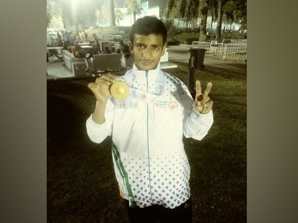 Indian Special Olympics athlete Jitendra Pawal