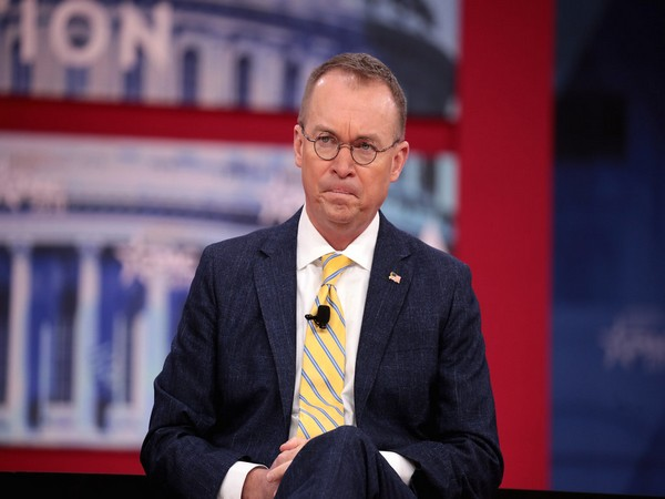 Acting White House chief of staff Mick Mulvaney (File pic)