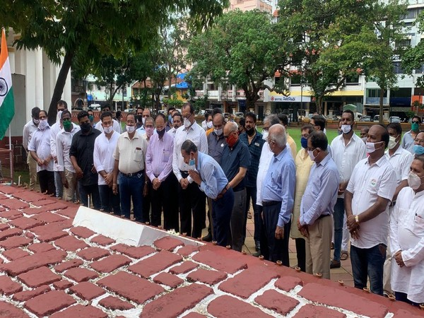 Goa Congress observed Shaheed Ko Salam Diwas (Photo/ANI)