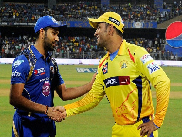 Rohit Sharma and MS Dhoni (Photo/ IPL Twitter)