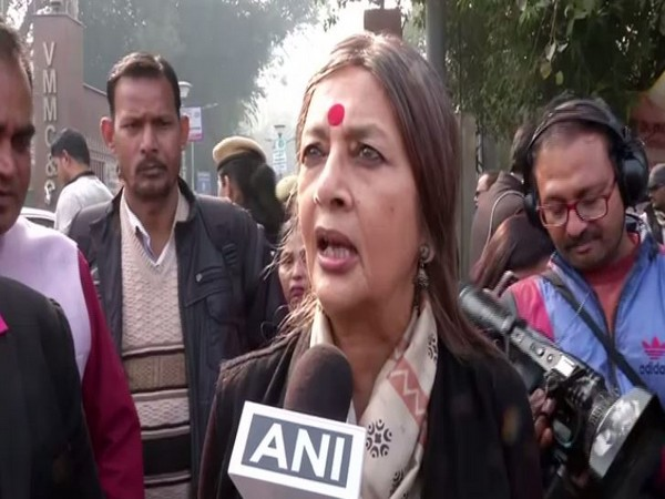 CPI-M leader Brinda Karat speaking to ANI on Saturday. Photo/ANI
