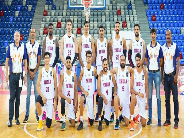 Indian basketball team (Photo: FIBA)