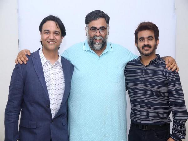 Filmmakers Vikas Sharma, Akarsh Khurana and Sunny Khanna