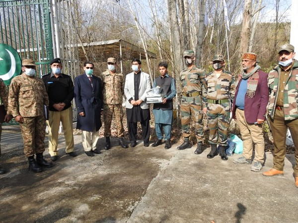 Army oversaw repatriation of Indian national from PoK on Friday [Photo/ANI]