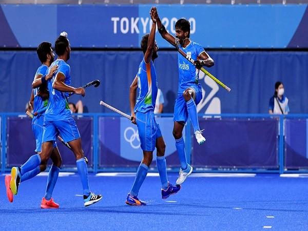 Indian hockey team in action (Image: Hockey India)