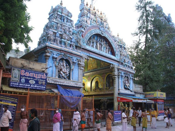 Sri Meenakshi Sundareswarar Temple [Photo/ANI]