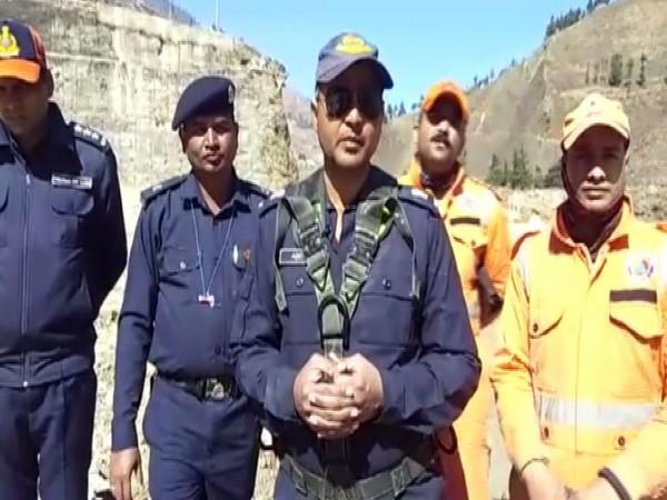 NDRF Deputy Commandant Aditya Pratap Singh.