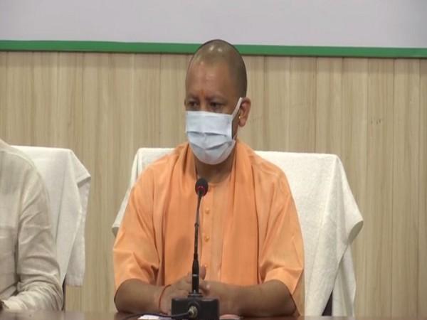 Uttara Pradesh Chief Minister Yogi Adityanath speaking to ANI, in Lucknow on Saturday. [Photo/ANI]