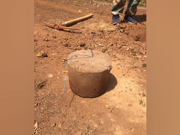 The IEDs were planted probably to target the security forces. Photo/ANI