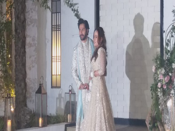 Varun Dhawan and Natasha Dalal first appearance post-wedding