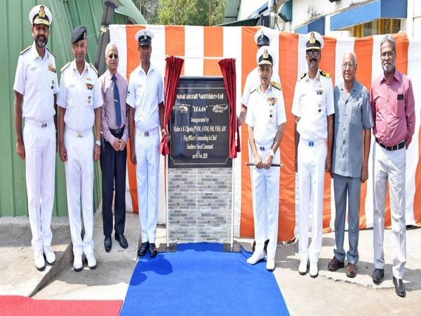 Naval Aircraft Yard celebrates diamond jubilee in Kochi. Photo/ANI